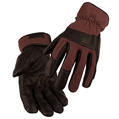 BLACK STALLION AngelFireTM Women's TIG Welding Gloves - Chocolate - MEDIUM