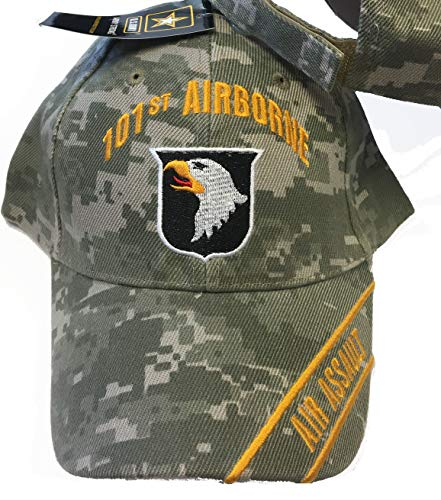 101st Airborne Air Assault Camo Baseball Style Embroidered Hat Ball Cap Usa (101st Airborne Ball Cap)