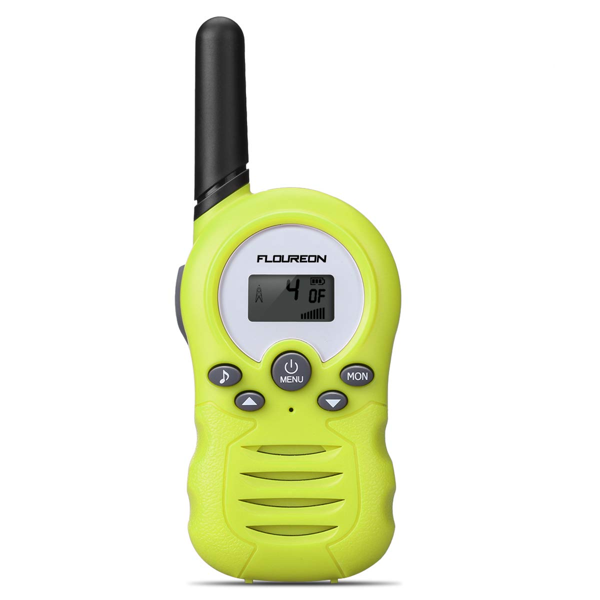 Kids Walkie Talkies FLOUREON Two Way Radios 22 Channel 3000M (MAX 5000M Open Field) UHF Long Range Handheld Talkies Talky (Green)