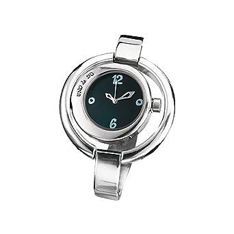 Uno de 50 REL0138MGRMTL0U Ahora O Nunca Reloj Mujer Baño Plata Cuarzo Tamaño 44 mm: Amazon.es: Relojes