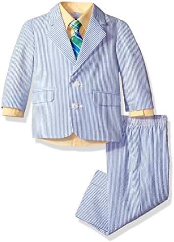 Izod Kids Baby Boys' Seersucker Suit Set