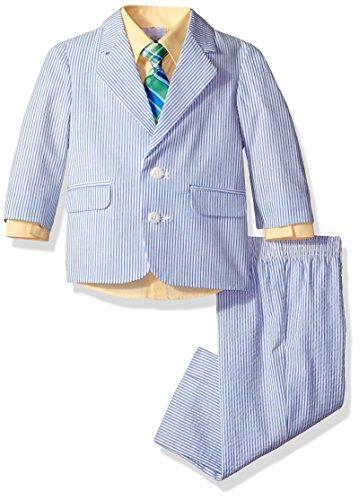 Izod Kids Baby Boys' Suit Set, Light Yellow, 12 Months