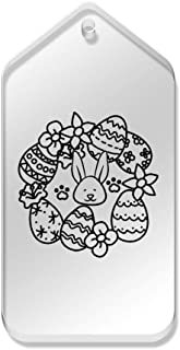 Azeeda 10 x 'Lapin de Pâques et Oeufs' etiquettes de Bagage / Cadeau (TG00066151)