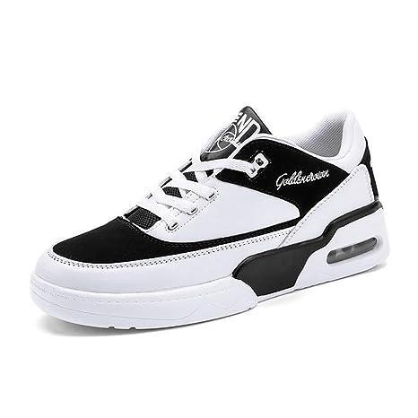 Hy Zapatos de Running para Hombres Primavera/Otoño Cómodas Zapatillas de Deporte Transpirables Calzado Casual