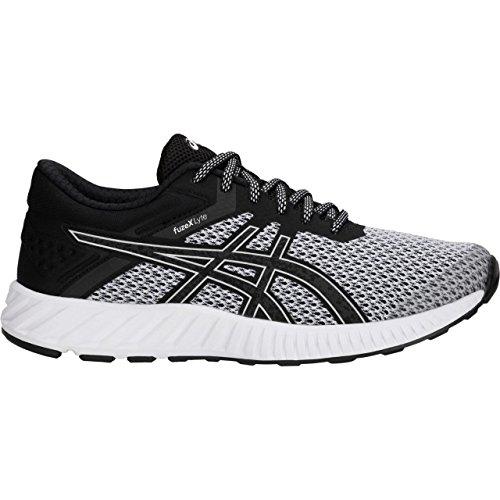 ASICS T769N Women's FuzeX Lyte 2 Running Shoe, White/White - 8 B(M) US