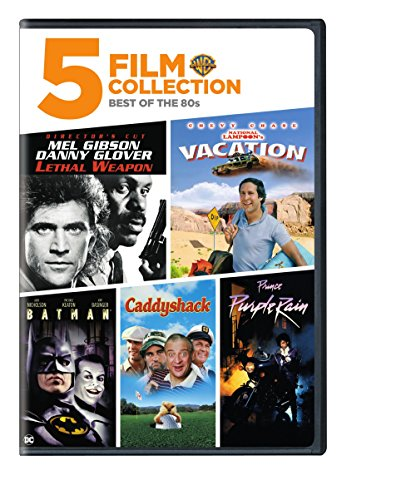5FF: Best of the 80's - Lethal Weapon/ National Lampoon's Vacation/ Purple Rain/ Caddyshack/ Batman (Movies Purple Dvd On Rain)