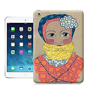 Unique Phone Case The girl creative collage art Bound Color Study Hard Cover for ipad mini cases-buythecase
