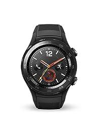 Huawei Watch 2 Sport 4G/LTE Factory Unlocked IP68 4GB Smartwatch (Carbon Black) - International Version
