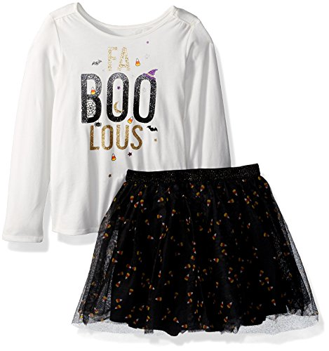 The Children's Place Baby Girls' Halloween Top and