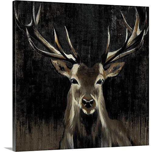 Liz Jardine Premium Thick-Wrap Canvas Wall Art Print Entitled Young Buck 30