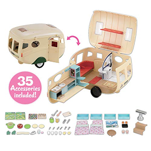 Calico Critters Caravan Family