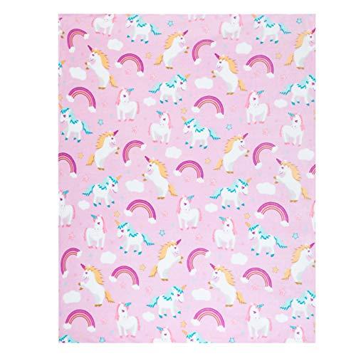 Unicorn Throw Blanket Adorable