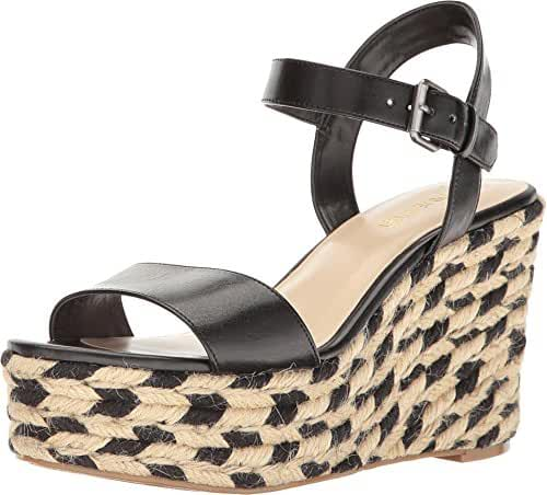 Nine West Women's Doitright Synthetic Wedge Sandal