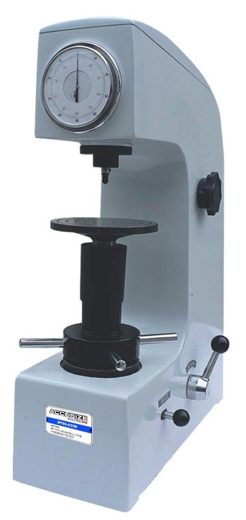 AccusizeTools - 3R Type Rockwell Type Hardness Tester HR150A with Accessories In Box, #RT90-0330