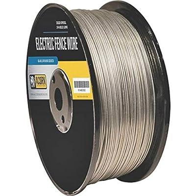 Acorn EFW1412 Galvanized Steel Electric Fence Wire, 14 Gauge
