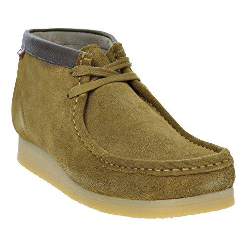 CLARKS Stinson Hi Men's Boots Wheat 26116502 (8 D(M) US) - Clarks Shoe Outlets