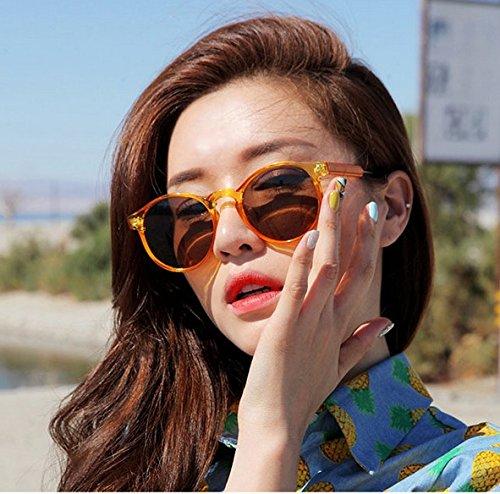 Gafas De zhenghao Macho Y Marco Sol Hembra Sol Gafas 2 Ash Xue Blanco Gafas Sol Moda Circular De De De fBqwq8dZn