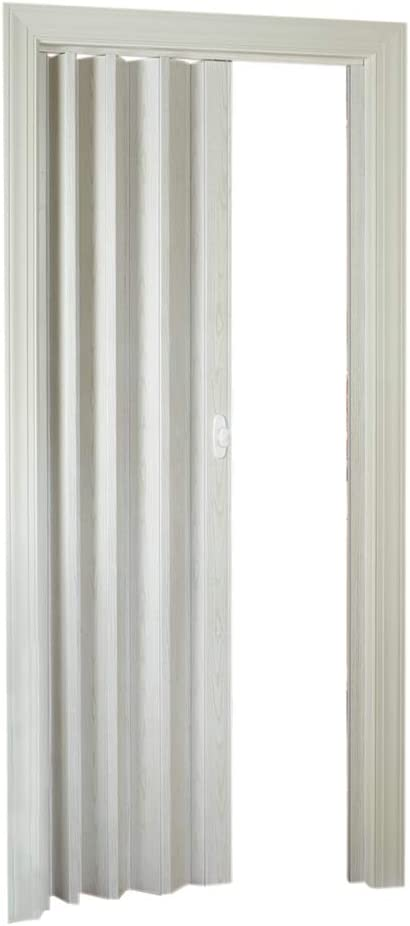 LTL Home Products HSROYAL3280WA Royale Interior Folding Accordion Door, 36 x 80 Inches, White Ash