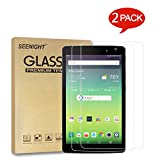 [2 Pack] LG G Pad III 8.0 V525 V522 Screen Protector Tempered glass,9H Hardness Scratch Resistant for LG G Pad X8.0 X 8.0'' AT&T V520/T-Mobile V521 2016 Released Android 8-inch Tablet