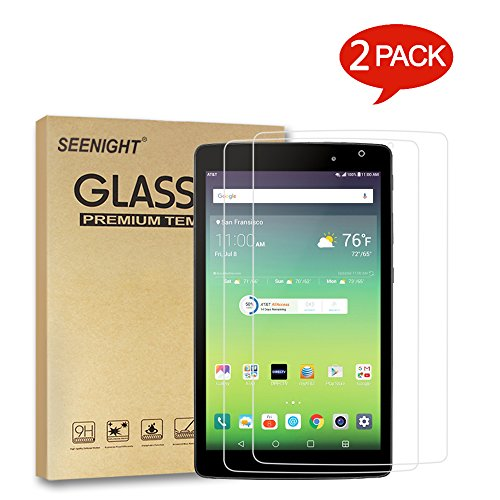 [2 Pack] LG G Pad III 8.0 V525 V522 Screen Protector Tempered glass,9H Hardness Scratch Resistant for LG G Pad X8.0 X 8.0'' AT&T V520/T-Mobile V521 2016 Released Android 8-inch Tablet by SEENIGHT