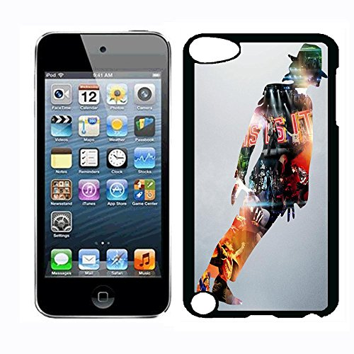 Michael Superstar Jackson Case for iPod Touch 5th iPod Touch 6th,PC Material Hard Case Never Fade (Jackson Case Ipod Michael)