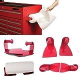 work fridge - Magnetic Paper Towel Holder Steel Kitchen Workshop Houseware Refrigerator Mount by ATB