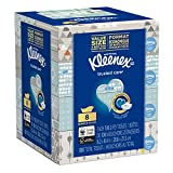 Kleenex Trusted Care Everyday Facial Tissues, 8 Flat Boxes, 100 Tissues per Box (800 Count Total)