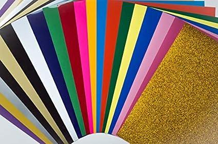 """Pink palette GLITTER Siser Heat Transfer Vinyl KIT 20/"""" x 12/"""" each  9 COLORS kit"""