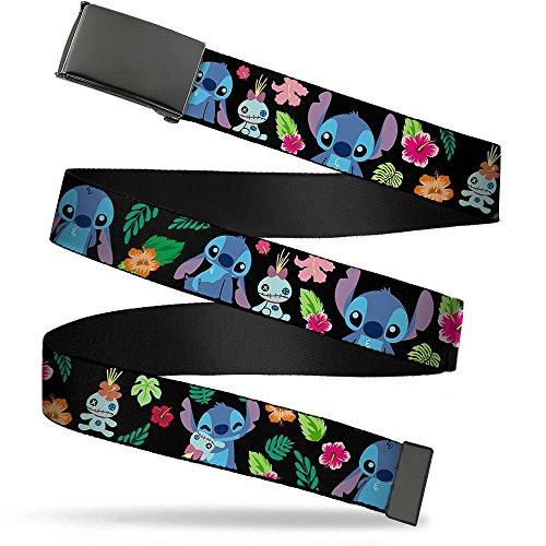 (Buckle-Down Web Belt Lilo & Stitch 1.25
