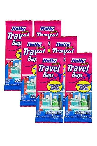Hefty Clear Plastic Bags - 2