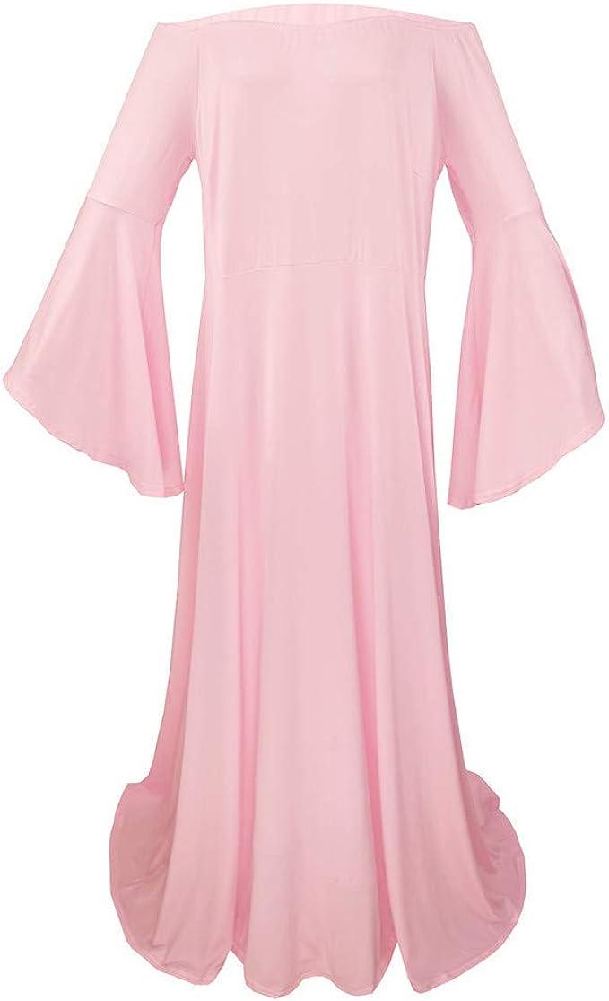 Vestido de Maternidad para Mujeres Embarazadas, Falda Larga con ...