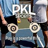 PKL Sports Pickleball Paddle Set of 4 Maple Wood
