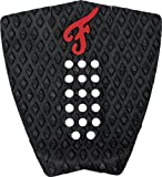 Famous 'Nathaniel Curran' Stranded - Black/Red Traction Pad