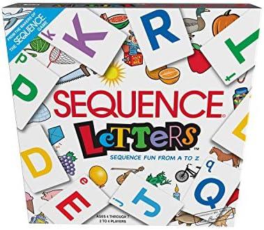 SEQUENCE LETTERS: Amazon.es: Juguetes y juegos