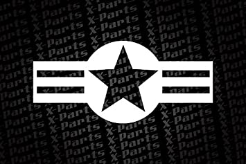 Star Military Belt White Star Military Us Army Stickers