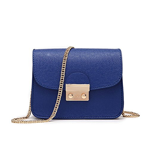 Sola Coreano De Bolso Meaeo Bolso Tendencia Mujer Negro Blue Bolso Pequeño Mini Z1BxA