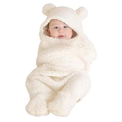 Wetry - Saco de Dormir para Bebé Recién Nacido Niña y Niño Manta de Cuna Coche
