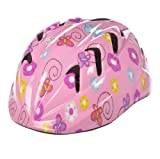 : Fisher Price V14 Helmet, Pink Flowers, X-Small