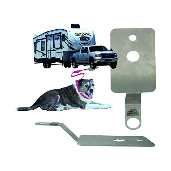 DogSitter - mobiler Ankerpunkt für Ihren Hund (Camping Wohnmobil Wohnwagen) (SET1)