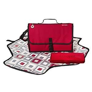 Skip Hop Pronto Portable Mini Changing Mat Station, Red