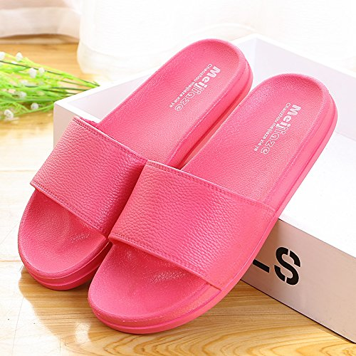ladies slippers cool black 40 Summer BUq4w