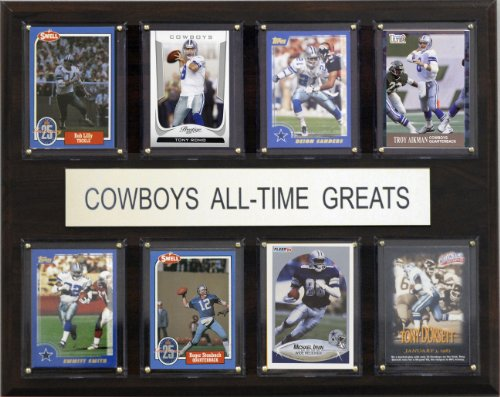 NFL Dallas Cowboys All-Time Greats Plaque(Art May Vary) ()