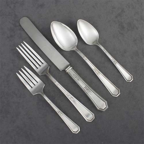 (Mayfair by Rogers & Bros., Silverplate 5-PC Setting, Dinner)