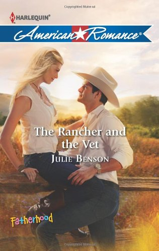 book cover of The Rancher and the Vet