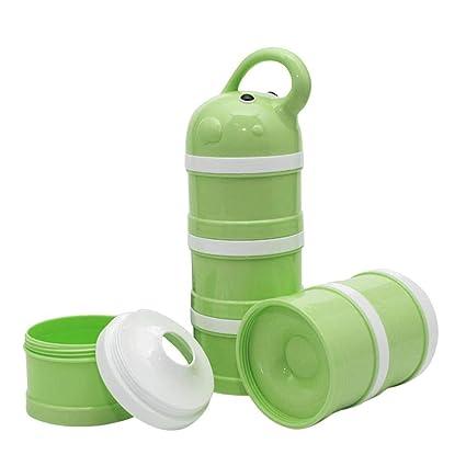 Navigatee Dispensador de Leche en Polvo, Caja de Embalaje de Leche en Polvo para bebé