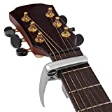 Neewer® Silvery Single-handed Specially Designed For Ukulele Banjo Mandolin Capo