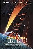 """Star Trek: Insurrection 1998 Authentic 27"""" x 41"""" Original Movie Poster Rolled Fine, Very Good Patrick Stewart Thriller U.S. One Sheet Advance"""