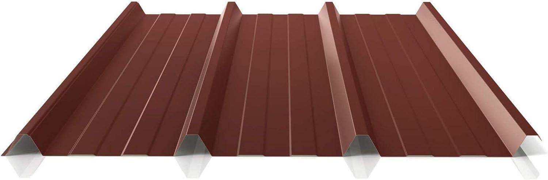 Chapa trapezoidal, perfil PS45/1000TR, material de acero, grosor 0,40 mm, revestimiento 25 μm, color gris antracita: Amazon.es: Bricolaje y herramientas