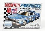 Richard Petty Plymouth Belvedere 1964 Daytona 500 Winner Model Kit by AMT by AMT