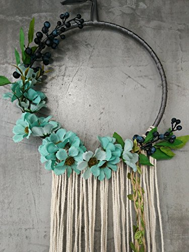 Ornament Wreath Wall Hanging (RISEON Handmade 32